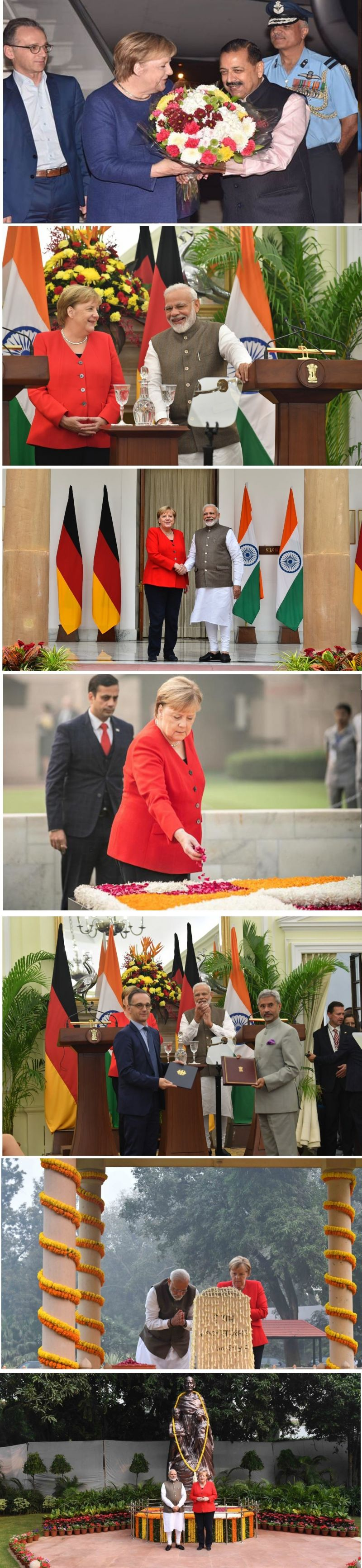 Photo #1 - India - Otta Nottathil - angela_merkel_india_visit_nov_1