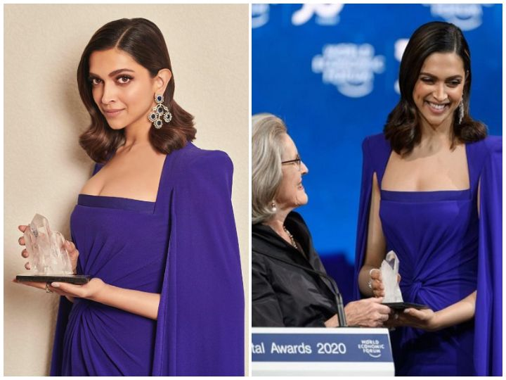 Photo #1 - Europe - Otta Nottathil - deepika_padukone_wef_crystal_award_2020